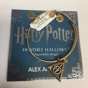 Alex and Ani Harry Potter Deathly Hollows NWT